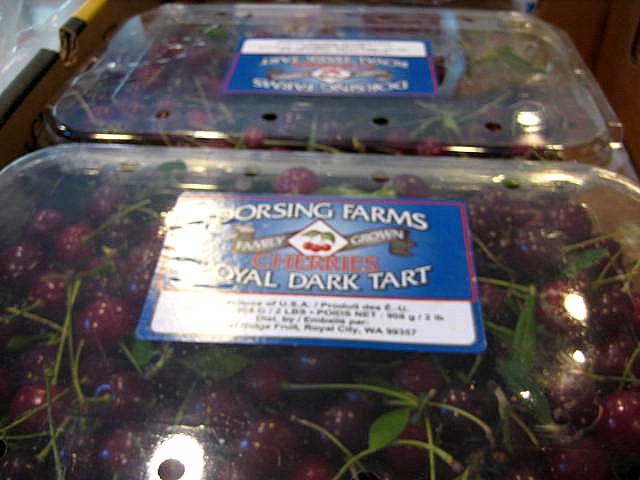 Dorsing Farms cherries