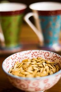 Light & Crispy Roasted Pumpkin Seeds